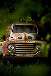 An old Ford at Otow Orchard in Granite Bay, CA May 4, 2010.