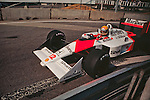 Ayrton Senna in McLaren MP4-4, Detroit 1988