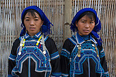 Hmong tribe women, Northern Vietnam.