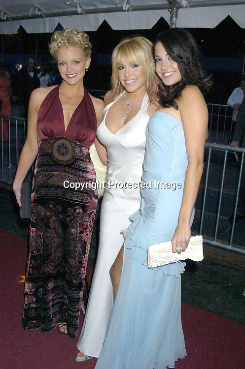 Martha Madison, Farah Fath and Heather Lindell.arriving at The 32nd Annual Daytime Emmy Awards .at Radio City Music Hall on May 20, 2005..Photo by Robin Platzer, Twin Images