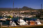 Puerto Colon harbour,Tenerife, Canary Islands, Spain