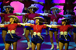 The Kilgore Rangerettes perform at the Texas Medal of Arts Awards, Austin Texas, April 7, 2009. The Texas Medal of Arts Awards is a celebration by the Texas Cultural Trust of the finest in Texas artists.