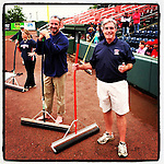 Ready to get the field in shape. (Tom Priddy/Four Seam Images)