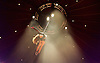 La Soiree<br /> at the La Soiree Spiegeltent, Southbank Centre, London, Great Britain <br /> press photocall<br /> 29th October 2015 <br /> <br /> <br /> Yammel Rodriguez <br /> aerial acrobatics <br /> <br /> <br /> <br /> Photograph by Elliott Franks <br /> Image licensed to Elliott Franks Photography Services