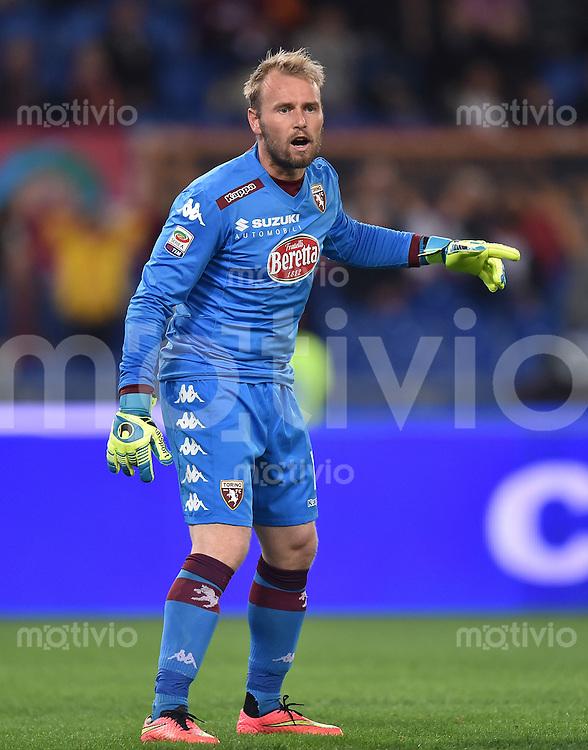 FUSSBALL INTERNATIONAL   SERIE A   SAISON  2014/2015   11. Spieltag AS Rom - FC Turin                    09.11.2014 Jean Francois Gillet (FC Turin)