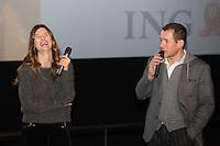 Semi-exclusif :<br /> Dany Boon et Alice Pol assistent &agrave; l'avant-premi&egrave;re du film &quot; Raid Dingue &quot;, &agrave; L'UGC De Brouck&egrave;re, &agrave; Bruxelles.<br /> Belgique, Bruxelles, 11 janvier 2017<br /> Semi-exclusive :<br /> French actor Dany Boon and actress Alice Pol attend the movie premiere of ' Raid Dingue ' at the UGC De Brouck&egrave;re cinemas in Brussels.<br /> Belgium, Brussels, 11 January 2017