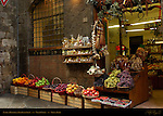 Siena Grocer, Antica Bottega, Old Food Shop, Via di Citta, Siena, Italy