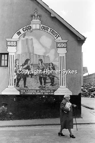Londonderry northern ireland derry 1979 protestant for Telephone mural 1970