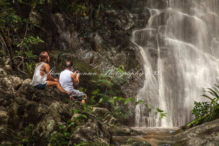 Reef Bay  Watefall<br /> Virgin Islands National Park<br /> St. John<br /> U.S. Virgin Islands