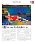 """China Daily - The Olympian"", August 12, 2008, Beijing China"