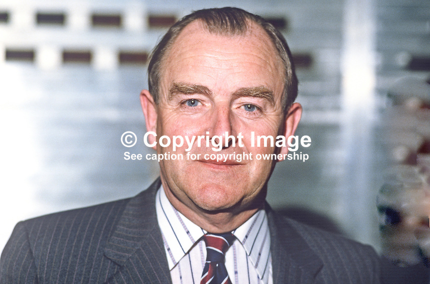 Sir John Hermon, chief constable, RUC, Royal Ulster Constabulary, N Ireland, 19840065JH1<br />
