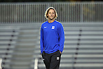 27 October 2016: Duke assistant coach Erwin van Bennekom (NED). The Duke University Blue Devils hosted the Clemson University Tigers at Koskinen Stadium in Durham, North Carolina in a 2016 NCAA Division I Women's Soccer match. Clemson won the game 1-0.