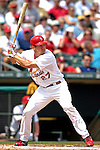 14 March 2007: St. Louis Cardinals third baseman Scott Rolen in the action against the Washington Nationals at Roger Dean Stadium in Jupiter, Florida...Mandatory Photo Credit: Ed Wolfstein Photo