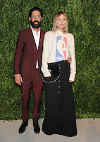 NEW YORK, NY - NOVEMBER 07: Greg Chait and Dee Hemingway attends 13th Annual CFDA/Vogue Fashion Fund Awards at Spring Studios on November 7, 2016 in New York City. Photo by John Palmer/MediaPunch