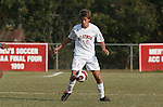 10 November 2007: NC State's Lucas Carpenter. The Duke University Blue Devils defeated the North Carolina State University Wolfpack 2-0 at Method Road Soccer Stadium in Raleigh, North Carolina in an Atlantic Coast Conference NCAA Division I Men's Soccer game.