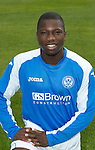 St Johnstone FC Season 2012-13 Photocall.Nigel Hasselbaink.Picture by Graeme Hart..Copyright Perthshire Picture Agency.Tel: 01738 623350  Mobile: 07990 594431