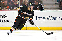 03/02/11 Anaheim, CA: Anaheim Ducks defenseman Cam Fowler #4 during an NHL game between the Detroit Red Wings and the Anaheim Ducks at the Honda Center. The Ducks defeated the Red Wings 2-1 in OT.