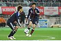 (L-R) Yuichi Komano, Chikashi Masuda (JPN),.FEBRUARY 24, 2012 - Football / Soccer :.Kirin Challenge Cup 2012 match between Japan 3-1 Iceland at Nagai Stadium in Osaka, Japan. (Photo by Takamoto Tokuhara/AFLO)