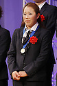 Nozomi Yamago (JPN), DECEMBER 27, 2011 - Football / Soccer : Nozomi Yamago of Japan attends Celebration party for FIFA Women's World Cup Champion at Tokyo Dome City in Tokyo, Japan. (Photo by Yusuke Nakanishi/AFLO SPORT) [1090]