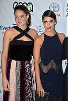 BURBANK, CA. October 22, 2016: Shailene Woodley &amp; Nikki Reed at the 26th Annual Environmental Media Awards at Warner Bros. Studios, Burbank.<br /> Picture: Paul Smith/Featureflash/SilverHub 0208 004 5359/ 07711 972644 Editors@silverhubmedia.com