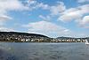 Blick &uuml;ber den Rhein auf Bingen mit Rochusberg<br /> <br /> view over the river Rhine to Bingen and the Rochusberg