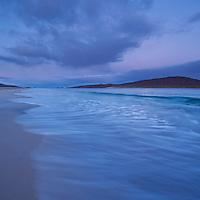 Morning light on Luskentyre beach, Isle of Harris, Outer Hebrides, Scotland