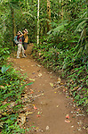Birding in the Arenal area near El Castillo, Costa Rica