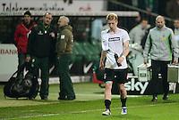 FUSSBALL   1. BUNDESLIGA  SAISON 2011/2012  30. SPIELTAG 10.04.2012 SV Werder Bremen - Borussia Moenchengladbach  Enttaeuschung Gladbach, Marco Reus