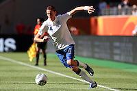 Wolfsburg , 270611 , FIFA / Frauen Weltmeisterschaft 2011 / Womens Worldcup 2011 , Gruppe B  ,  ..England - Mexico ..Jill Scott (England)  ..Foto:Karina Hessland ..