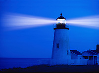 Pemaquid Lighthouse in Pemaquid Maine.