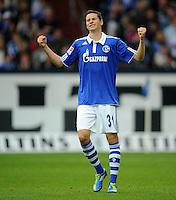 FUSSBALL   1. BUNDESLIGA   SAISON 2011/2012    11. SPIELTAG FC Schalke 04 - 1899 Hoffenheim                            29.10.2011 Julian DRAXLER (Schalke) aergert sich ueber eine vergebene Torchance