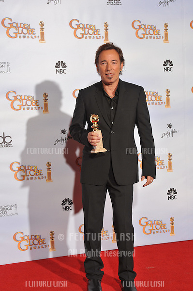 Bruce Springsteen at the 66th Annual Golden Globe Awards at the beverly Hilton Hotel..January 11, 2009  Beverly Hills CA.Picture: Paul Smith / Featureflash