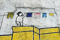 Urban Colors on wall in Manila,Philippines - Graffiti and paintings