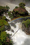 South America, Argentina, Iguacu Falls.