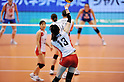 Risa Shinnabe (JPN),.MAY 27, 2012 - Volleyball : FIVB the Women's World Olympic Qualification Tournament for the London Olympics 2012, between Japan 2-3 Serbia at Tokyo Metropolitan Gymnasium, Tokyo, Japan. (Photo by Jun Tsukida/AFLO SPORT) [0003].