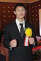 Yasuhiro Suzuki,.JANUARY 25, 2012 - Boxing :.Japan's Boxer of the Year Award 2011 at Tokyo Dome Hotel in Tokyo, Japan. (Photo by Hiroaki Yamaguchi/AFLO)