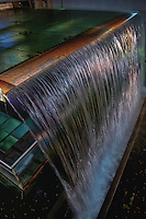 Shortly after starting the self guided tour through the Guinness Storehouse in Dublin, you come upon a waterfall.