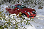(Holyoke, MA, 01/06/13) 2013 Cadillac ATS all-wheel drive is seen Sunday, January 06, 2013. Staff photo by Christopher Evans