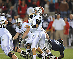 Ole Miss vs. Vanderbilt quarterback Jordan Rodgers (11) at Vaught-Hemingway Stadium in Oxford, Miss. on Saturday, November 10, 2012. Vanderbilt won 27-26.