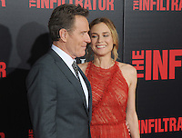 "NEW YORK, NY - July 11: Bryan Cranston and Diane Kruger  attends the New York remiere of ""The Infiltrator"" at the Loewa AMC on July 11, 2016 in New York City.Photos  by: John Palmer/ MediaPunch"