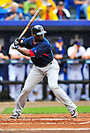 11 March 2010: Boston Red Sox center fielder Mike Cameron in action during a Spring Training game against the New York Mets at Tradition Field in Port St. Lucie, Florida. The Red Sox defeated the Mets 8-2 in Grapefruit League action. Mandatory Credit: Ed Wolfstein Photo