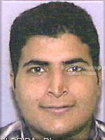 Washington, DC - September 26,  2001 -- Photo released by FBI of  , one of the alleged hijackers of United Airlines Boeing 767 designated as Flight #175, from Boston to Los Angeles.  The flight departed Boston at 7:58 AM on Tuesday, September 11, 2001 and crashed into the South Tower of the World Trade Center at 9:05 AM..Credit: FBI via CNP