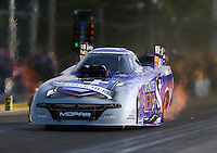Jun 3, 2016; Epping , NH, USA; NHRA funny car driver Jack Beckman during qualifying for the New England Nationals at New England Dragway. Mandatory Credit: Mark J. Rebilas-USA TODAY Sports