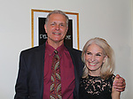 All My Children's Richard Shoberg stars in Perfect Crime - 30th Anniversary off-Broadway with Catherine Russell who originated the role of Margaret and has played every performance except 4 since April of 1987 and is in the Guiness Book of World Records. The 30th anniversary was on April 18, 2017 at Bernstein Theatre, New York City, New York. (Photo by Sue Coflin/Max Photos)