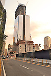 #3 World Trade Center and #4 World Trade Center under construction