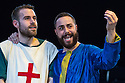 London, UK. 12.06.2014. Bear Trap Theatre Company present ENDURING SONG at Southwark Playhouse. Picture shows: Daniel Foxsmith (Georges) and Moncef Mansur (Ibn). Photograph © Jane Hobson.