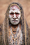 Portrait of Asaro woman, Papua New Guinea