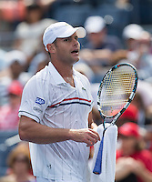 Andy Roddick..Tennis - US Open - Grand Slam -  New York 2012 -  Flushing Meadows - New York - USA - Sunday 2nd September  2012. .© AMN Images, 30, Cleveland Street, London, W1T 4JD.Tel - +44 20 7907 6387.mfrey@advantagemedianet.com.www.amnimages.photoshelter.com.www.advantagemedianet.com.www.tennishead.net