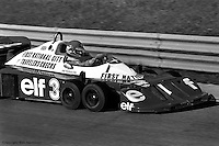 BOWMANVILLE, ONT - OCTOBER 9: Ronnie Peterson drives the Tyrrell P34 6/Ford Cosworth DFV during the Canadian Grand Prix on October 9, 1977, at Mosport Park near Bowmanville, Ontario.
