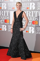 Jo Wiley at the 2017 Brit Awards at the O2 Arena in London, UK. <br /> 22 February  2017<br /> Picture: Steve Vas/Featureflash/SilverHub 0208 004 5359 sales@silverhubmedia.com